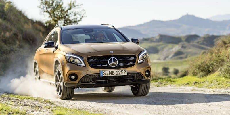 2018 Mercedes Benz GLA Facelift Unveiled