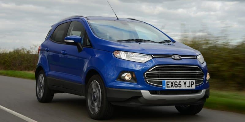 Ford EcoSport to offer touchscreen infotainment system as minor update