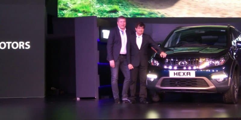 Tata Hexa Launched at Rs. 11.99 Lakhs