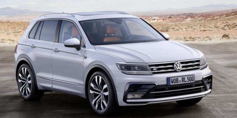 Volkswagen Tiguan SUV spotted testing again