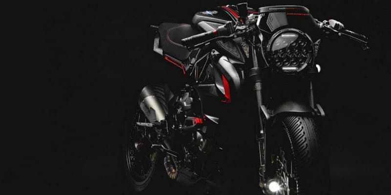 MV Agusta showcases two customised dragster motorcycles derived from the naked Brutale