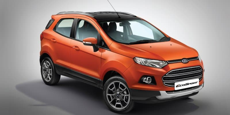 Ford India Launches EcoSport 'Platinum Edition' at Rs 10.39 lakh
