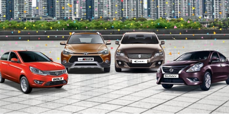 Current Offers and Discounts on Maruti, Hyundai, Tata & Nissan Cars – January 2017
