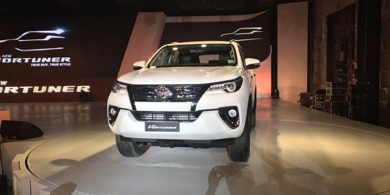 All-New Toyota Fortuner Gets 10000 Bookings